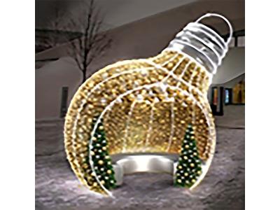 Декоративная фотозона Снеговики 180 см (цвет на выбор)