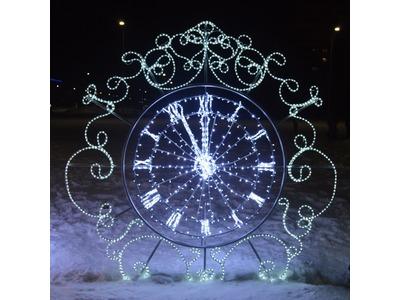 Декоративная декорация Новогодние куранты 150 см (цвет на выбор)