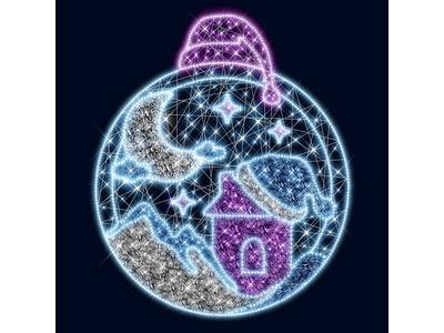 Декоративное панно Волшебный вечер 238 см (цвет на выбор)