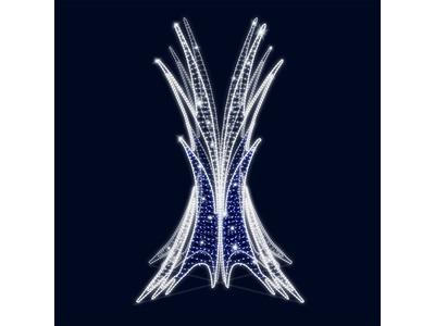 Декоративный фонтан Сияние 350 см (цвет на выбор)