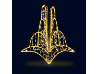 Декоративный фонтан Феерия (цвет на выбор)