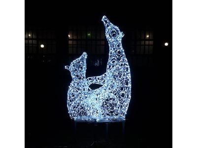 Декоративная 3D фигура Звезда объемная 50 см (цвет на выбор)