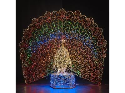 Декоративная 3D фигура Звезда объемная150 см (цвет на выбор)