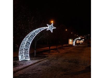 Декоративная декорация Подарочная коробка 30 см (цвет на выбор)
