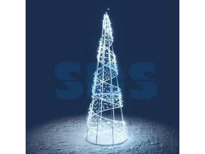 Декоративная елка На подставке 300 см (цвет на выбор)