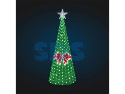 Декоративная елка Звездочка 700 см (цвет на выбор)