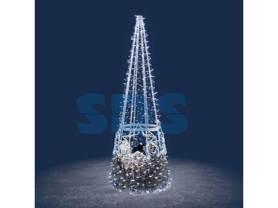 Декоративная елка Звездочка 1000 см (цвет на выбор)