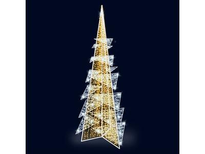 Декоративная елка Хайтек 1000 см (цвет на выбор)