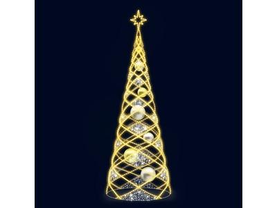 Декоративная елка Сказка 300 см (цвет на выбор)