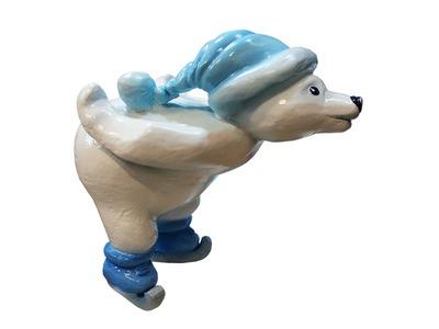Декоративная объемная фигура Медведь «Funny-1» 75 см (цвет на выбор)