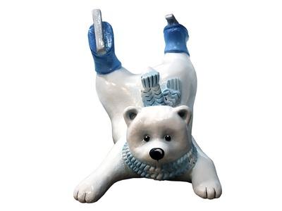 Декоративная объемная фигура Медведь «Funny-2» 110 см (цвет на выбор)