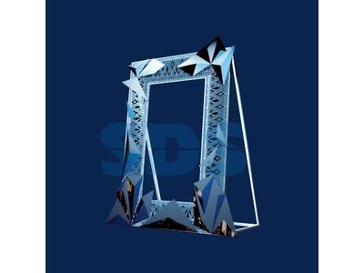 Декоративная фотозона Снеговик «Comic» 180 см (цвет на выбор)