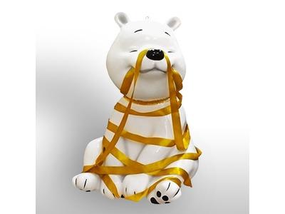 Декоративная объемная фигура Медведь «Полярный-4» 120 см