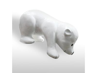 Декоративная объемная фигура Медведь «Полярный-3» 130 см