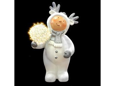Декоративная объемная фигура Олененок «Snowy-2» 108 см (цвет на выбор)
