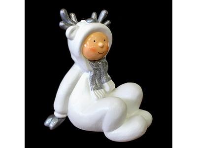 Декоративная объемная фигура Олененок «Snowy-3» 76 см (цвет на выбор)