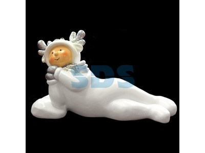 Декоративная объемная фигура Олененок «Snowy-4» 105 см (цвет на выбор)