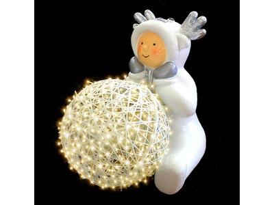 Декоративная объемная фигура Олененок «Snowy-5» 86 см (цвет на выбор)