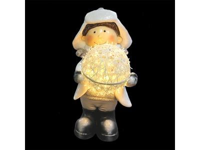Декоративная объемная фигура «Зимние забавы-1» 150 см (цвет на выбор)