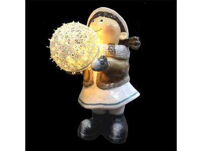 Декоративная объемная фигура «Зимние забавы-2» 150 см (цвет на выбор)