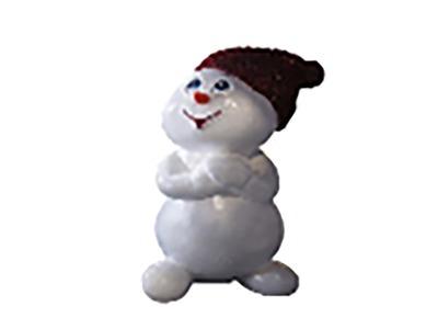 Декоративная объемная фигура Снеговик «Ниппи-1» 170 см (цвет на выбор)
