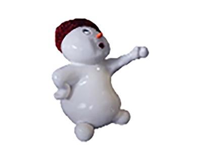 Декоративная объемная фигура Снеговик «Ниппи-2» 150 см (цвет на выбор)
