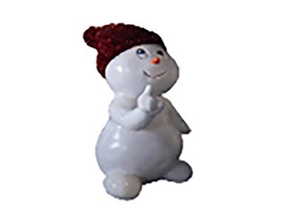 Декоративная объемная фигура Снеговик «Ниппи-3» 160 см (цвет на выбор)