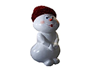 Декоративная объемная фигура Снеговик «Ниппи-4» 160 см (цвет на выбор)