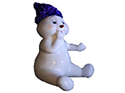 Декоративная объемная фигура Снеговик «Ниппи-5» 140 см (цвет на выбор)