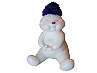 Декоративная объемная фигура Снеговик «Ниппи-6» 140 см (цвет на выбор)