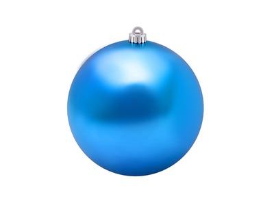 """Елочная фигура """"Шар"""", 20 см, цвет синий"""