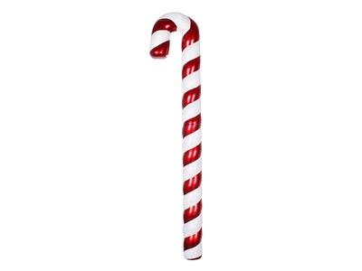 "Елочная фигура ""Карамельная палочка"" 121 см, цвет красный/белый"