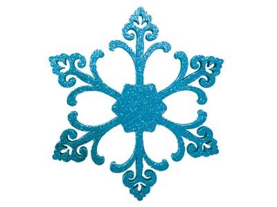 "Елочная фигура ""Снежинка ""Морозко"", 66 см, цвет синий"
