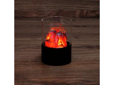 "Декоративный светильник ""Лава"" Ø7,5х11 см, батарейки 3хАА (не в комплекте)"