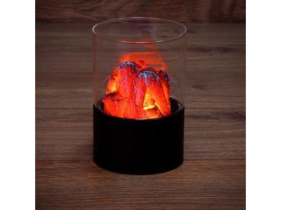 Декоративный светильник «Лава» Ø 10х16,5 см, батарейки 3хАА (не в комплекте)