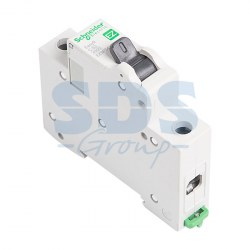 EZ9F34163 Автомат 1-полюсный 63А 4,5кА (хар-ка C) EASY 9 Schneider Electric
