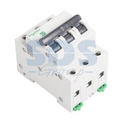 EZ9F34306 Автомат 3-полюсный 6А 4,5кА (хар-ка C) EASY 9 Schneider Electric