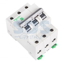 EZ9F34340 Автомат 3-полюсный 40А 4,5кА (хар-ка C) EASY 9 Schneider Electric