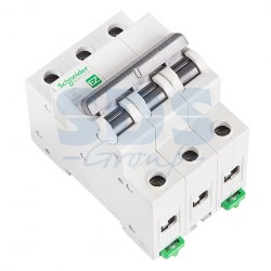 EZ9F34363 Автомат 3-полюсный 63А 4,5кА (хар-ка C) EASY 9 Schneider Electric